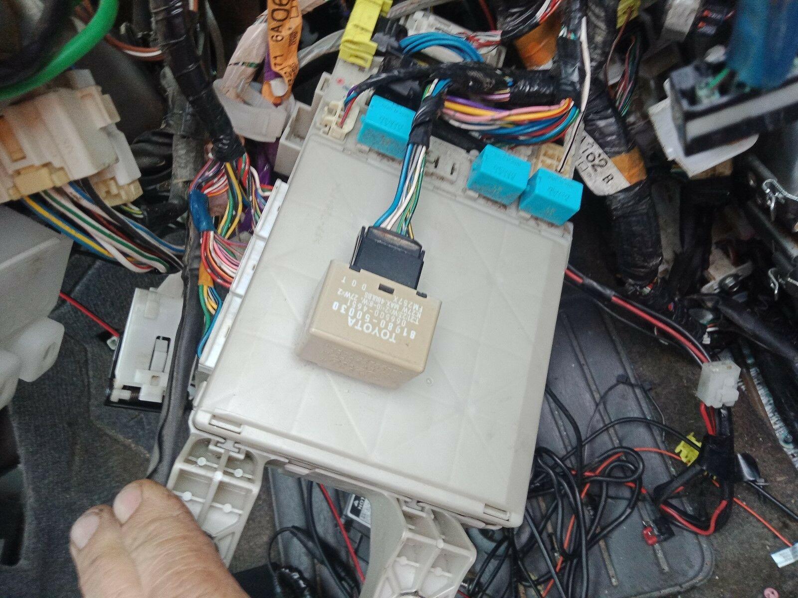Toyota Fuse Box 120 | Wiring Diagram